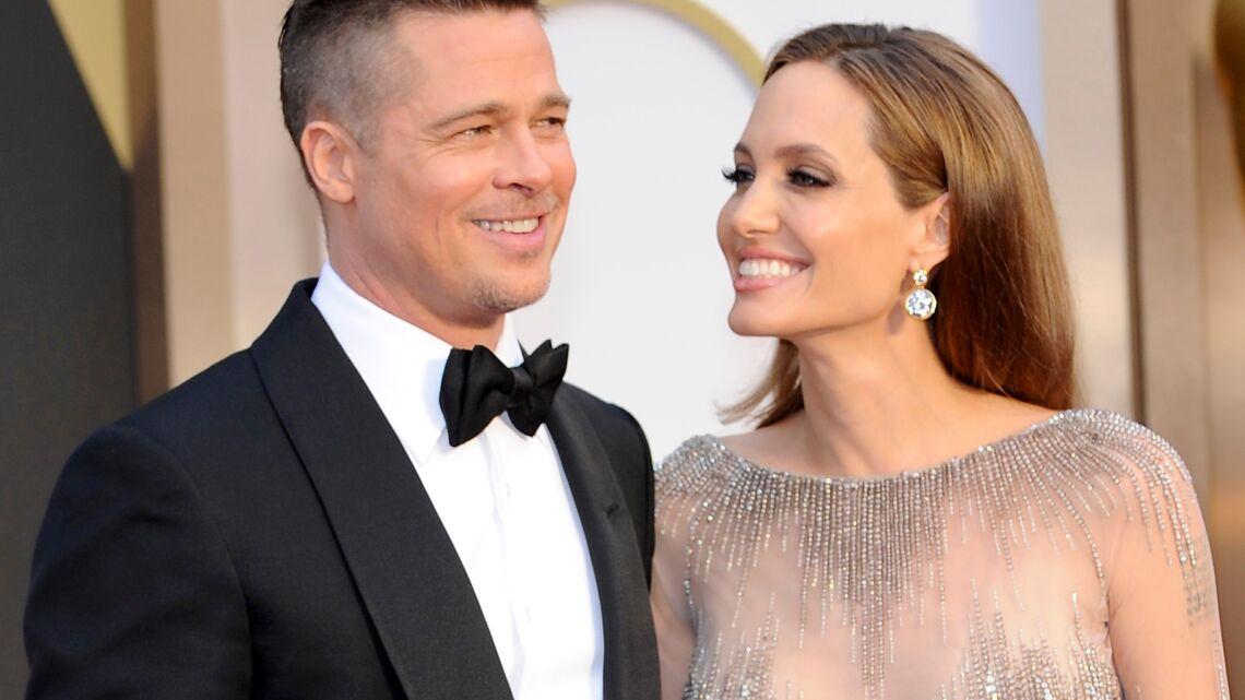 Vidéo – Angelina Jolie caresse les fesses de Brad Pitt