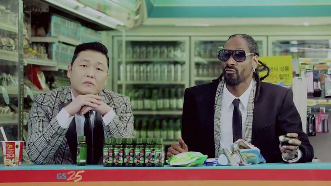 Pas de gueule de bois pour Psy et Snoop Dogg avec Hangover