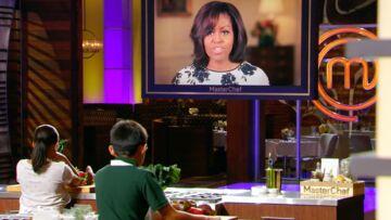 VIDEO – Michelle Obama recadrée par un enfant dans Masterchef Kids!