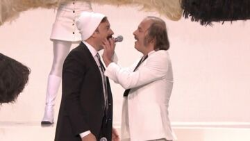 "VIDEO- Philippe Katerine et sa ""moustache"" enflamment le plateau de Jimmy Fallon"