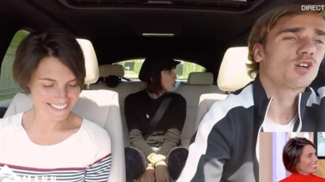 VIDÉO – Antoine Griezmann se lâche: il chante du Christophe Maé en voiture avec Alessandra Sublet