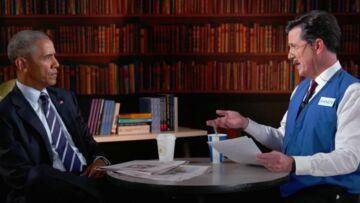 VIDEO – Géniale séquence d'autodérision: Barack Obama reçoit des conseils pour améliorer son CV!