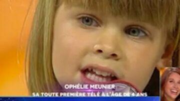 VIDEO – Bertrand Chameroy a retrouvé le passage d'Ophélie Meunier à L'école des fans à l'âge de 4 ans