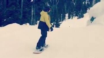 VIDEO – Brooklyn Beckham victime d'un accident de snowboard