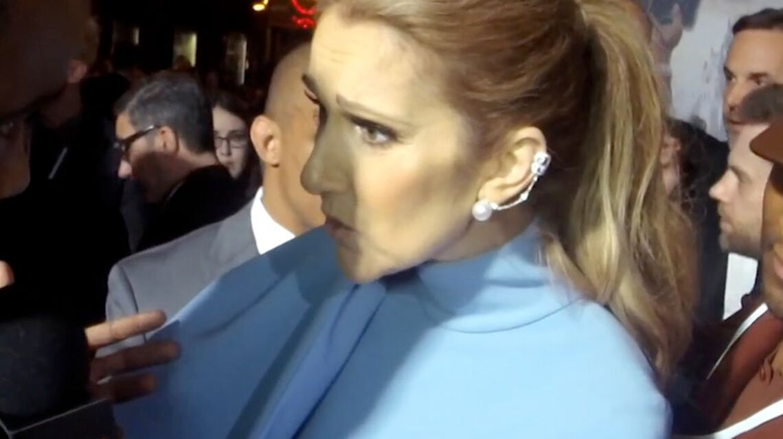 VIDEO – Céline Dion remet en place un journaliste