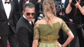 VIDEO- L'étonnant secret beauté d'Antonio Banderas à Cannes