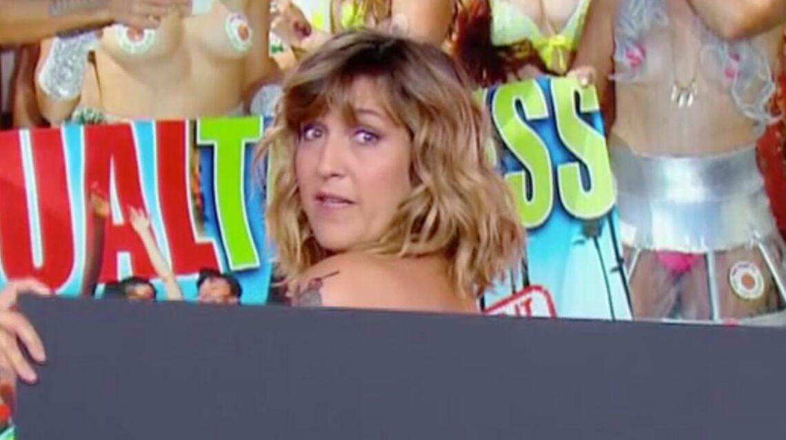 VIDEO – Daphné Burki recadrée par France 2 après s'être mise seins nus?