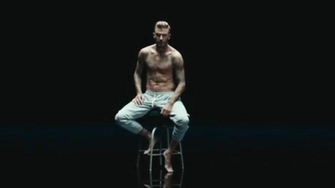 VIDEO – David Beckham tous tatouages dehors dans un nouveau spot de pub
