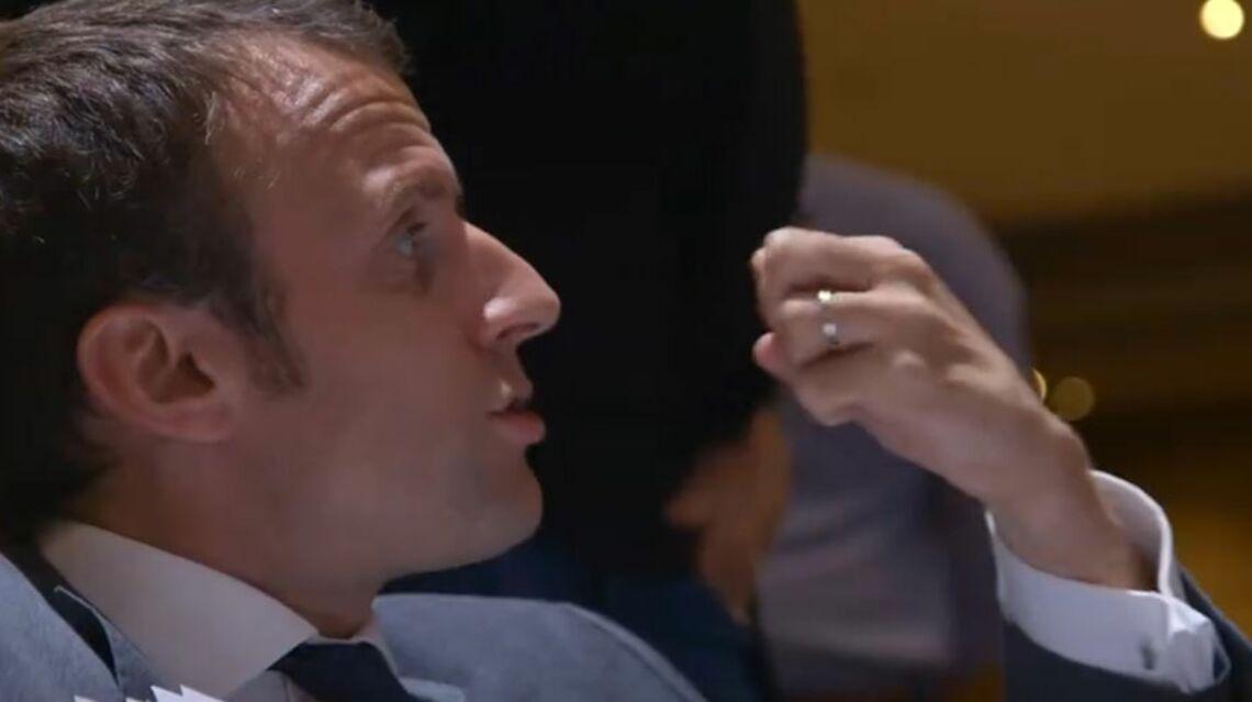 VIDEO – Discussion animée entre Emmanuel Macron et sa femme Brigitte Trogneux