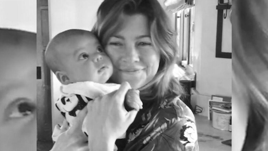 VIDÉO – Ellen Pompeo danse tendrement avec son bébé dans les bras