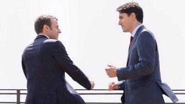 VIDEO – Emmanuel Macron et Justin Trudeau: qui est le plus sexy?