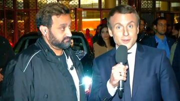 VIDEO – Cyril Hanouna et Emmanuel Macron, l'improbable rencontre pour la 1000e de TPMP