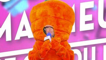 VIDEO – Évelyne Thomas remplace Cyril Hanouna à la présentation de Touche pas à mon poste déguisée en carotte