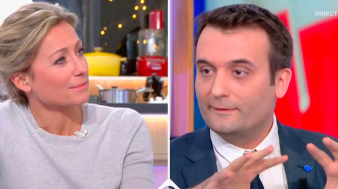 VIDEO – Tension maximale entre Anne-Sophie Lapix et Florian Philippot du FN dans C à vous