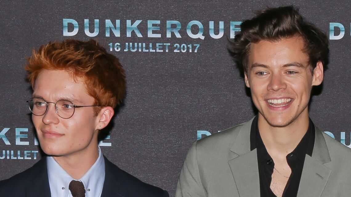 VIDEO – Harry Styles et Christopher Nolan font sensation sur le tapis rouge de Dunkerque