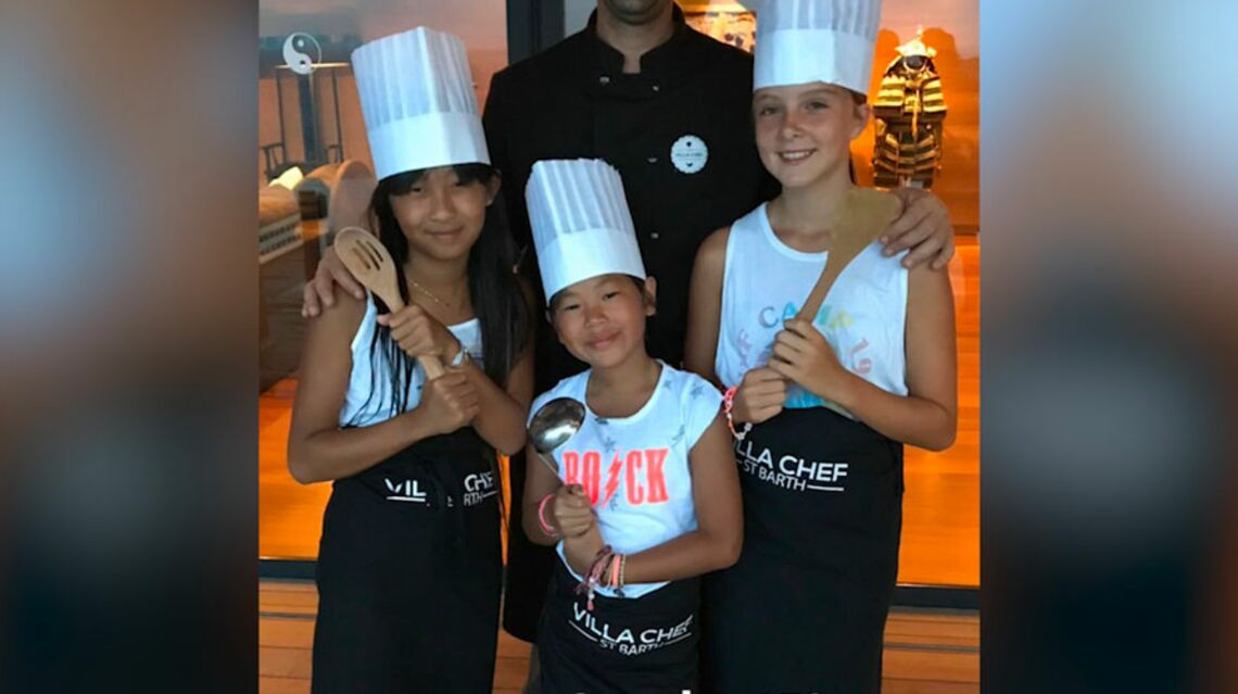 VIDEO – Quand Jade et Joy font la cuisine pour Laeticia Hallyday lors d'un challenge Top Chef