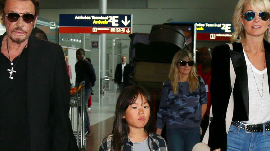 VIDEO – Le premier accident de Joy, la fille de Johnny et Laeticia Hallyday