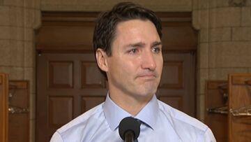 VIDEO – Justin Trudeau en larmes, le Premier ministre canadien incapable de cacher son émotion à l'annonce de la mort d'un célèbre chanteur de son pays