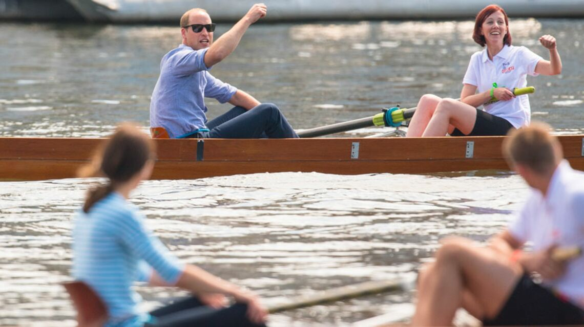 VIDEO- Quand William bat Kate… à l'aviron!