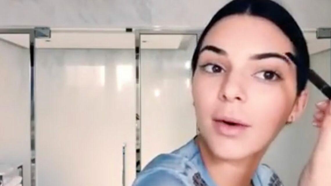 VIDEO – Kendall Jenner réalise un tuto et ne met que 2 minutes pour se maquiller!