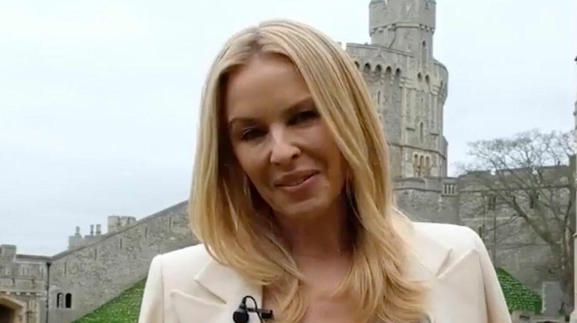 VIDEO -Découvrez sur qui Kylie Minogue a jeté son dévolu