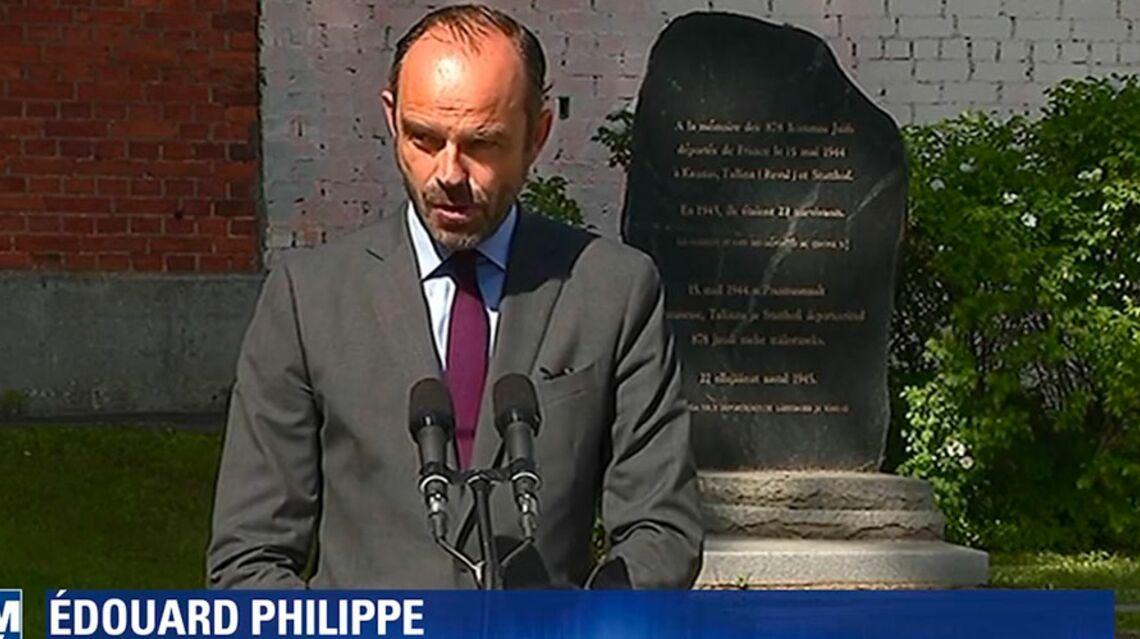 VIDEO – L'émotion d'Édouard Philippe lorsque le premier ministre évoque la déportation du père de Simone Veil