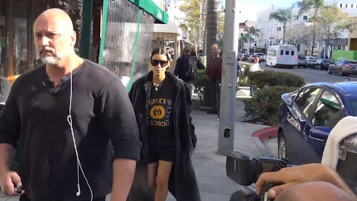 VIDEO- Le nouveau garde du corps indispensable de Kim Kardashian