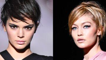 VIDÉO – Tendance cheveux courts: Kendall Jenner et Gigi Hadid au défilé Tom Ford