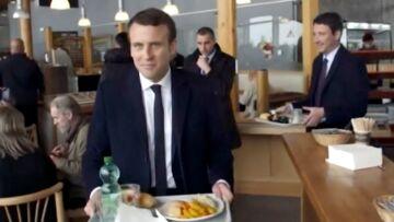 VIDEO – La passion d'Emmanuel Macron pour les cordons bleus qui amuse les twittos