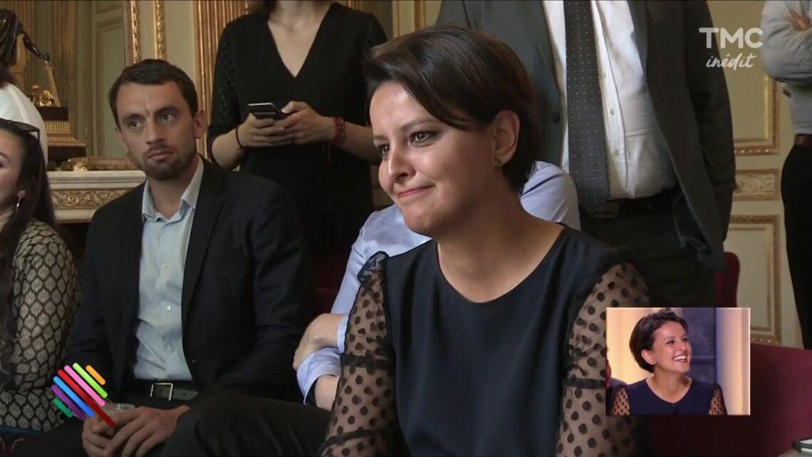 VIDEO – Le gros malaise de Najat Vallaud Belkacem en découvrant son successeur au gouvernement