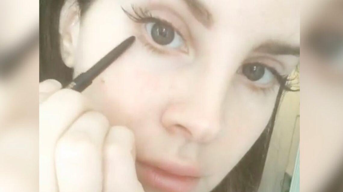 VIDEO – Lana Del Rey se lance dans le tuto beauté sur Instagram
