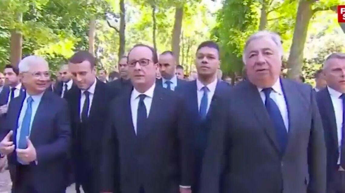 VIDEO – La belle complicité de François Hollande et Emmanuel Macron
