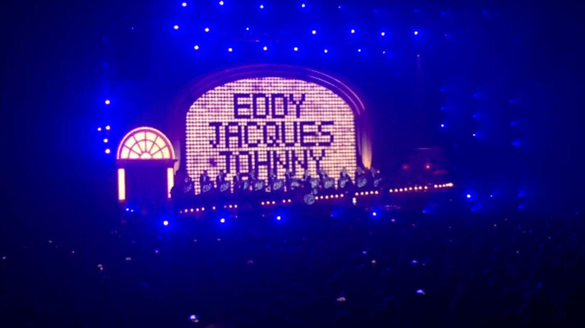 VIDEO – Vivez le retour sur scène Johnny Hallyday: il n'a rien perdu de sa voix malgré la maladie
