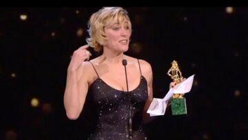 """VIDEO – Valeria Bruni-Tedeschi remercie """"les hommes qui l'ont aimée"""" aux César italiens"""