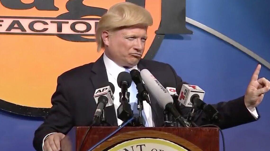 VIDEO – Le sosie de Donald Trump plus vrai que nature