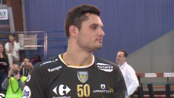 VIDEO-  Découvrez les premiers pas de handballeur de Florent Manaudou