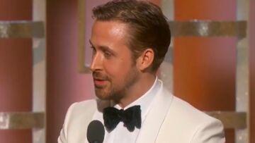 VIDEO – Ryan Gosling rend un hommage adorable à son épouse Eva Mendes et à leurs filles aux Golden Globes