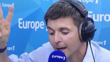 VIDEO – Thomas Sotto quitte la matinale: «Je vais pouvoir enfin prendre le petit-déj avec mon fils»