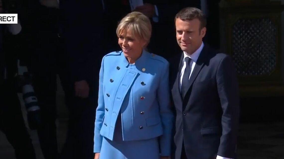 VIDEO –  Les Macron, enfin un couple heureux à l'Élysée!