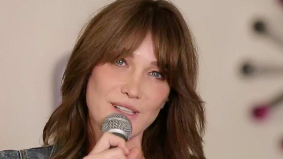 VIDEO- De Leonard Cohen à John Lennon, Carla Bruni nous présente sa playlist!