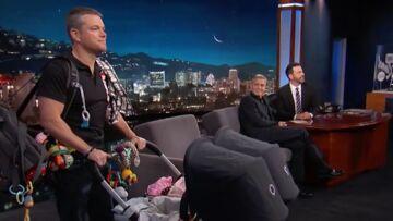 VIDEO – Quand Matt Damon joue les nounous pour les jumeaux d'Amal et George Clooney