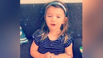 VIDEO – Karim Benzema: le message d'amour trop mignon de sa fille Mélia, 3 ans