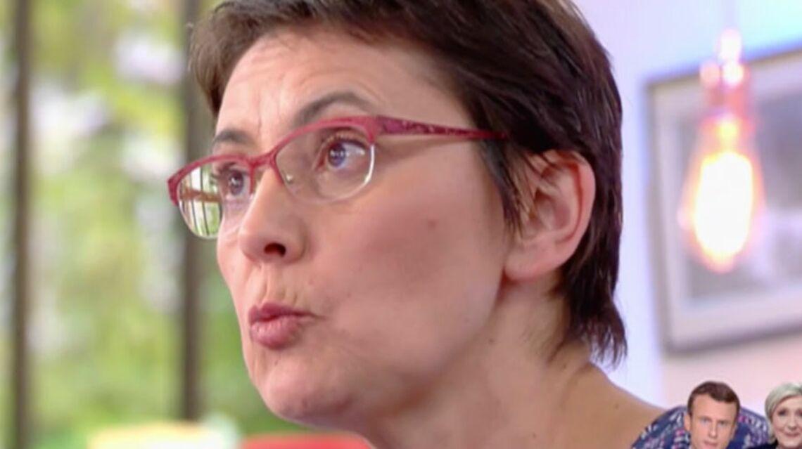 VIDEO – Malaise sur le plateau de C à vous: Nathalie Arthaud refuse de soutenir Francois Fillon cible de menaces terroristes