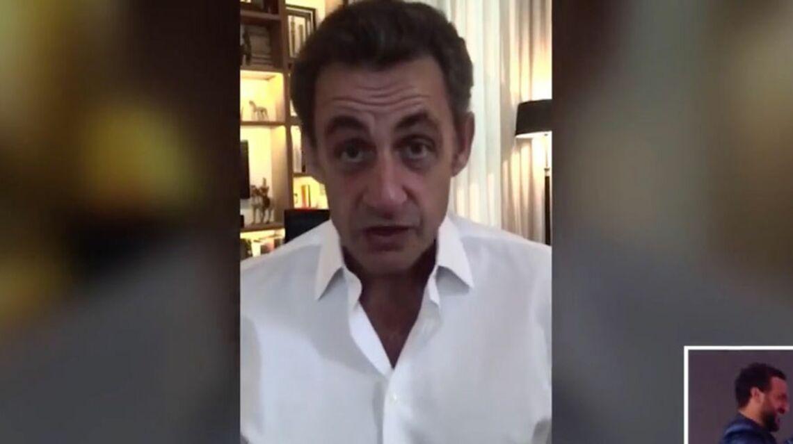 VIDÉO – Quand Nicolas Sarkozy souhaite un joyeux anniversaire à Cyril Hanouna