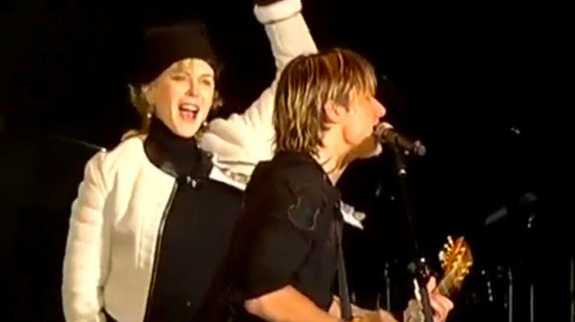 VIDEO – Nicole Kidman danse ivre au concert de son époux Keith Urban