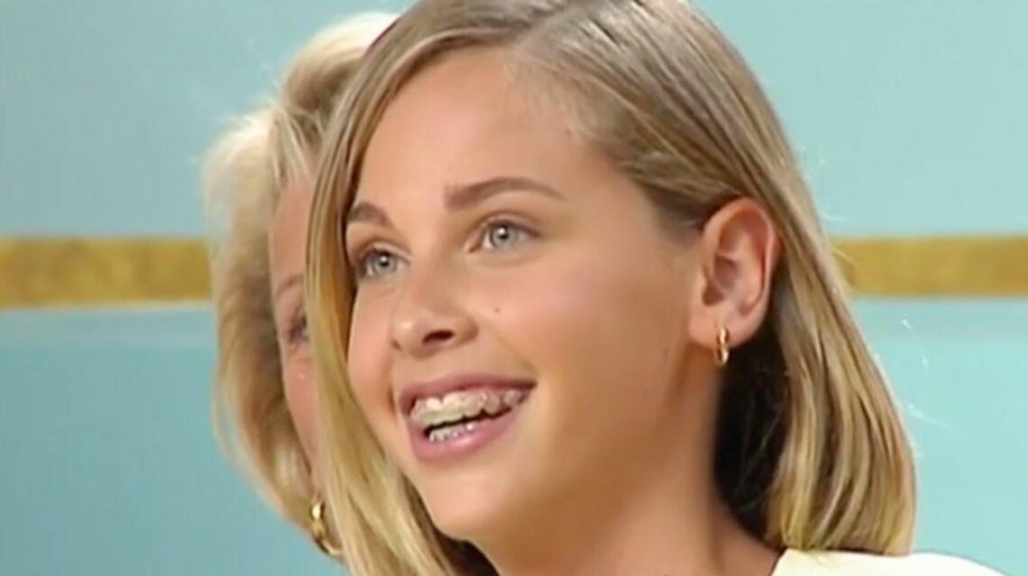 VIDEO –Ophélie Meunier: Sa première télé à 12 ans dans «C'est mon choix»