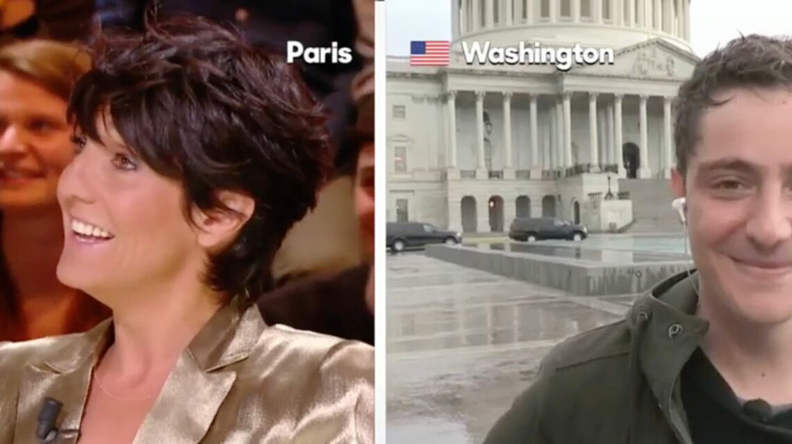 VIDEO – Quand Florence Foresti embarrasse le journaliste Martin Weill en le draguant
