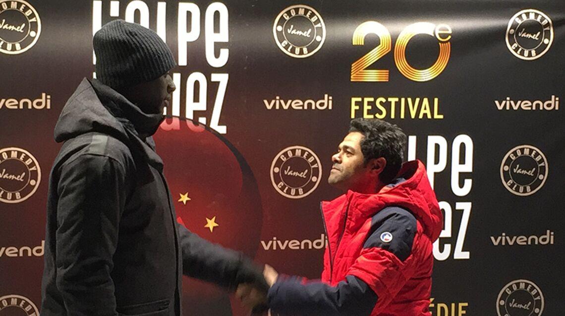VIDEO – Omar Sy et Jamel Debbouze, des retrouvailles glaciales