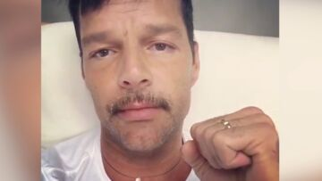 VIDEO- Ricky Martin est très inquiet pour ses amis de Porto Rico face à l'ouragan Irma