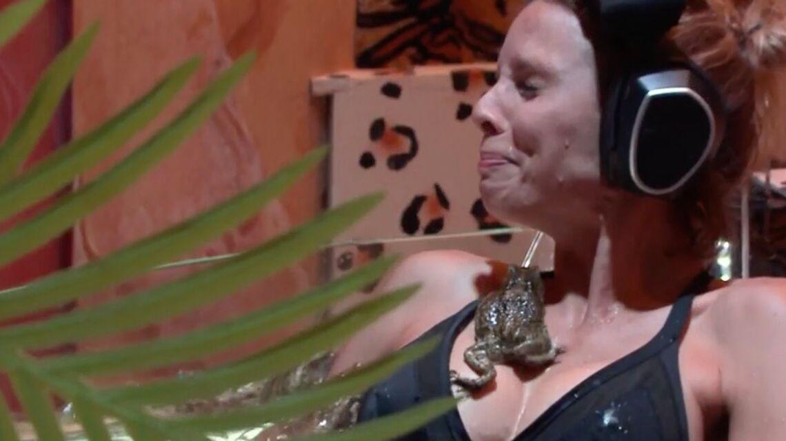 VIDEO – L'horreur à Fort Boyard pour Sylvie Tellier: quand une grenouille s'invite entre ses seins